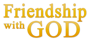 Friendship with God Devotional
